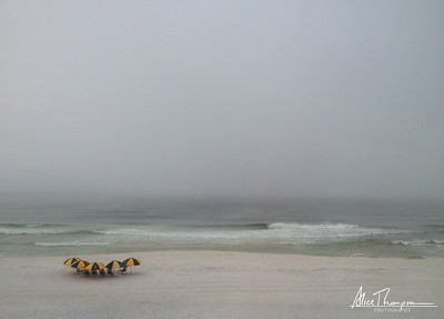 Foggy Morning at Seagrove Beach, FL