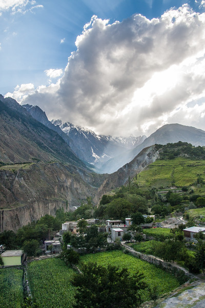 A small village in Hunza