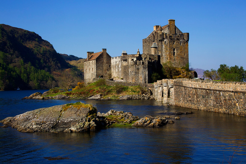 Eilean Donan Castle. Published in the Local Newspaper. John Chapman.