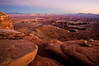 Grand View Overlook - sunset<br /> Canyonlands National Park<br /> Moab, Utah<br /> <br /> Canon 5D