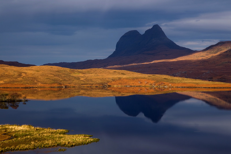 Suiliven Mountain. Sutherland. John Chapman.