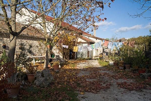 Farm-worker's cottage. Bovila, SW France.