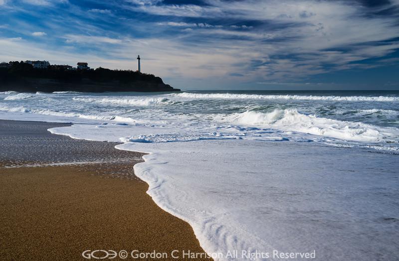 Photo 3318: Corinne's beach at Biarritz