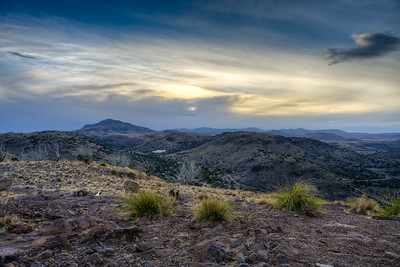 Davis Mountains Sunset