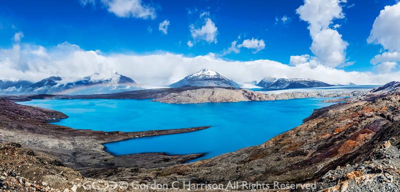 Photo 3339: Lago Argentina and Upsalla Glacier