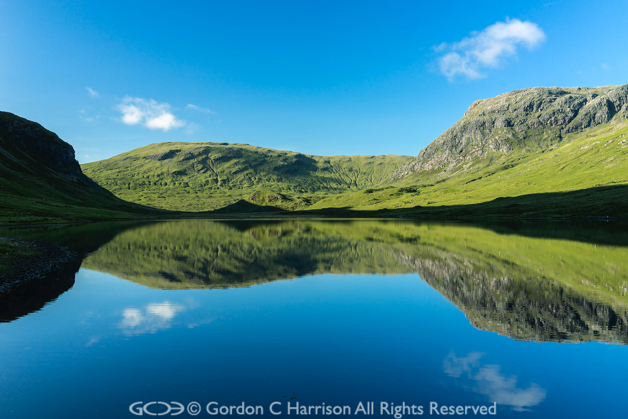 Photo 3221: Early summer's morning at Loch an Nid