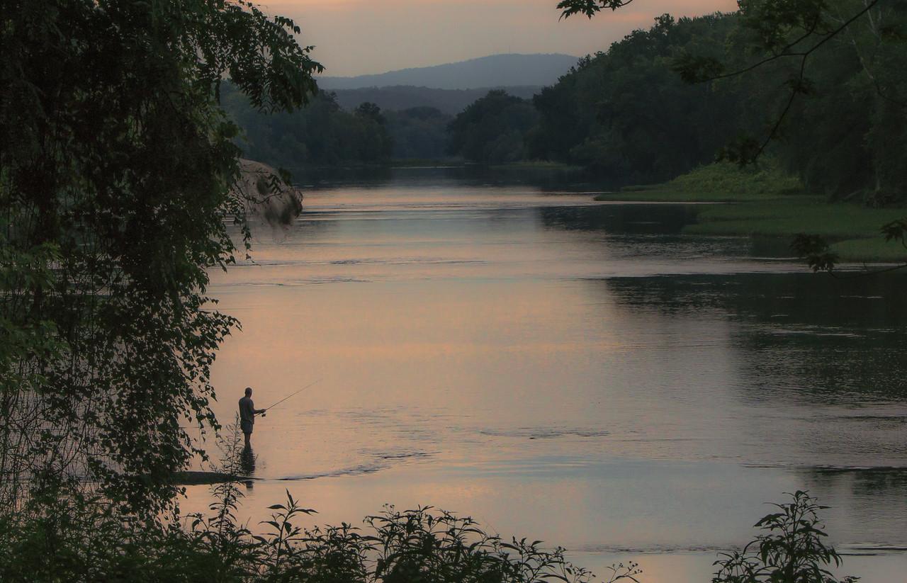 Sunrise on the Potomac River