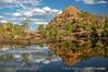 Bell Gorge billabong reflection