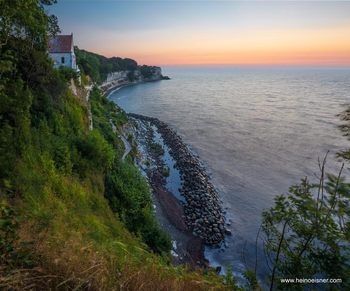 Morning at Stevns cliff