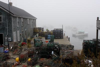 Old Wharf - Bernard Harbor, Mount Desert Isle, Maine, October 2007; Canon 40D