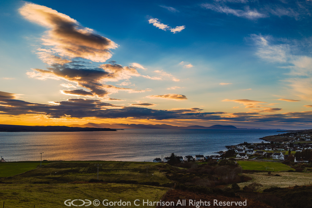 Photo 3270: Sky and Skye at Gairloch