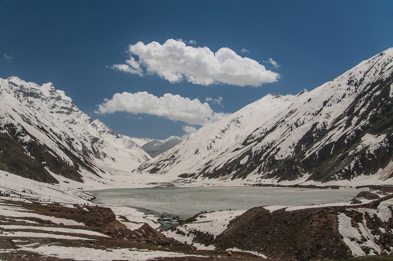 Lake Saif ul Maluk in early summer