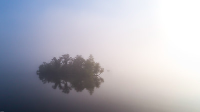 Foggy Morning on Lake Eau Claire