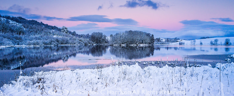 Photo 3323: Loch Kinellan at Dusk (I)
