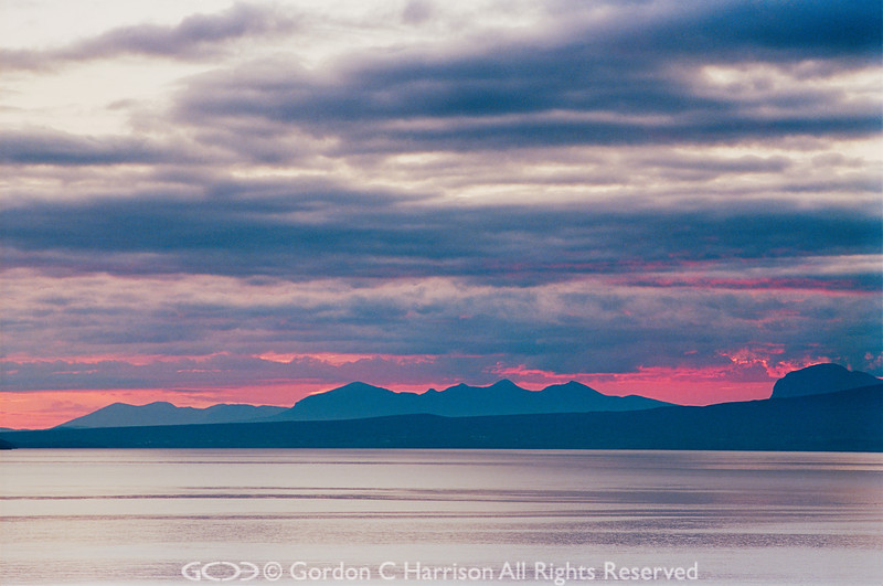 Photo 10 Dawn - View from Laide over Gruinard Bay, Wester Ross, Scotland
