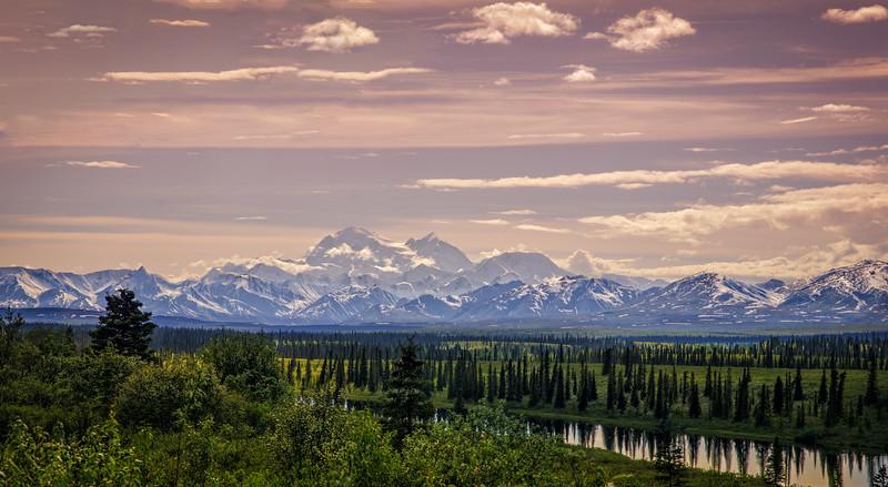 Mt. McKinley Sunset