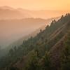 Sunset over the shoulder of Miranjani, Galiat