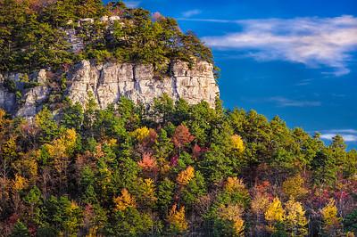 Pilot Knob, Pilot Mountain, NC.