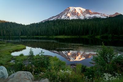 Reflection Lake Mount Rainier