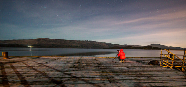 Luss Pier in winter