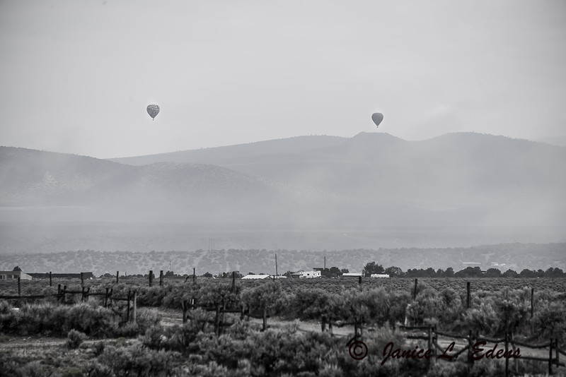 """Balloons over the Mountains"""