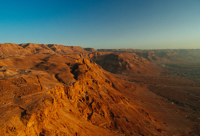 View from Herod's Palace, Masada