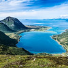 Photo 3336: Morfjiorden on the Lofoten Island of Austvagoya