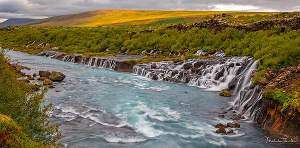 Hraunfossar (Lava Falls)