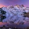 Dawn at the Sierra Buttes