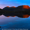Photo 3214: Sunrise at unnamed lochan in Torridon