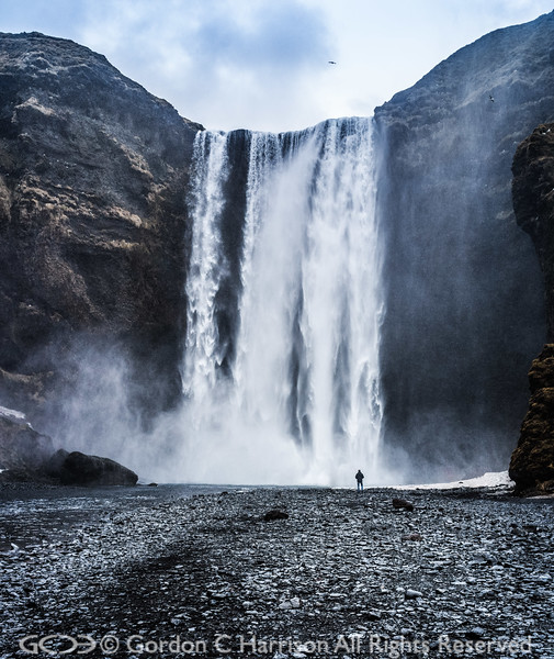 Photo 3332: Skogafoss Waterfall, Iceland