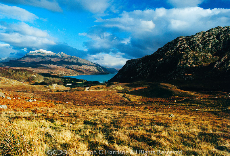 Photo 237: Evening sunlight at Loch Maree, Wester Ross, Scotland