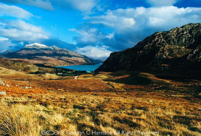 Photo 237: Evening sunlight at Loch Maree, Wester Ross, Scotland