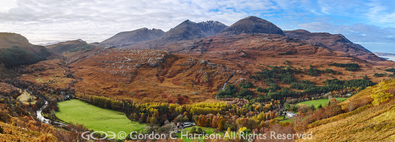 Photo 3267: An Teallach and Corriehallie