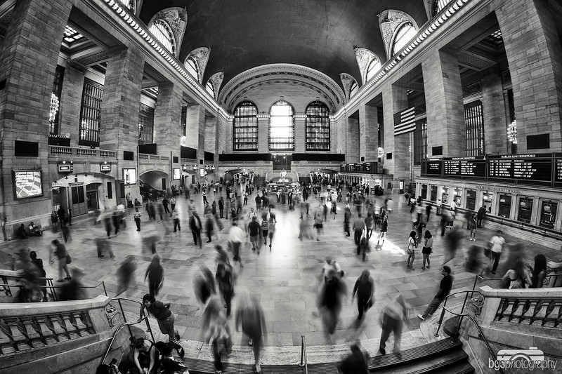 Grand Central rush hour