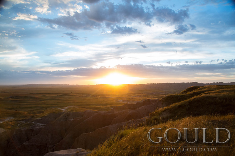 Badlands Sunset 1452