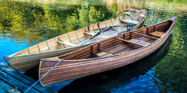 Beautiful Wooden Boats