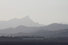Mount Warning<br /> <br /> The hazy form of Mount Warning can be seen in silhouette from Byron Bay, Australia.