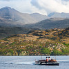 Photo 2897 Waverley paddle steamer at Loch Gairloch & Torridon hills beyond