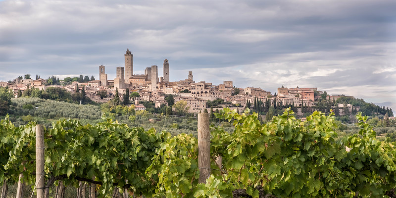 Known for its many towers, San Gimignano is a  hilltop town in northern Tuscany.