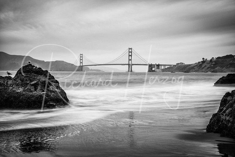 Golden Gate from China Beach