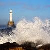 Rough Seas Aberdeen Scotland. John Chapman.