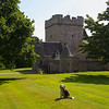 Buddy at Drum Castle. John Chapman.