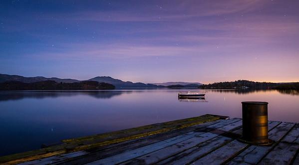 Loch Lomond at Night