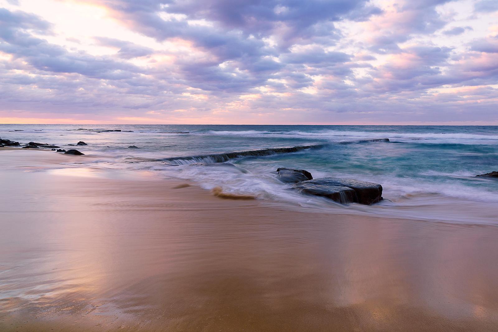 Sunrise at Bar Beach