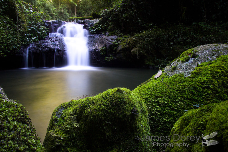 Lamington National Park Waterfall