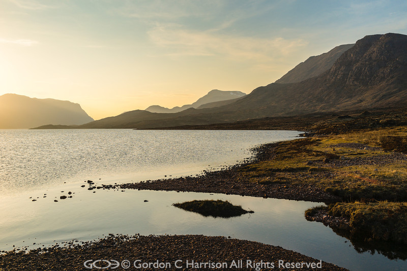 Photo 3215: Evening at Lochan Fada
