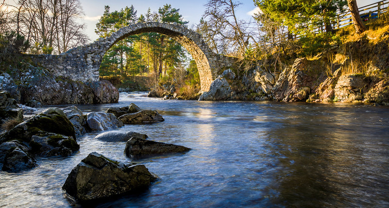 Old Pack Horse Bridge, Carrbridge, Scotland