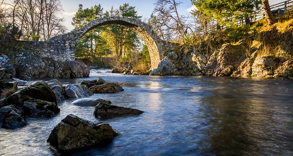 Old Pack Horse Bridge, Carrbridge, Scotland