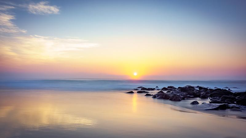 Nobbys Beach Sunrise